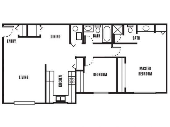 Mark Twain Apartments - Salt Lake City, Utah | The Catamaran