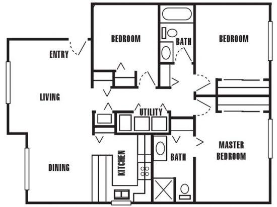 Mark Twain Apartments - Salt Lake City, Utah | The Windward