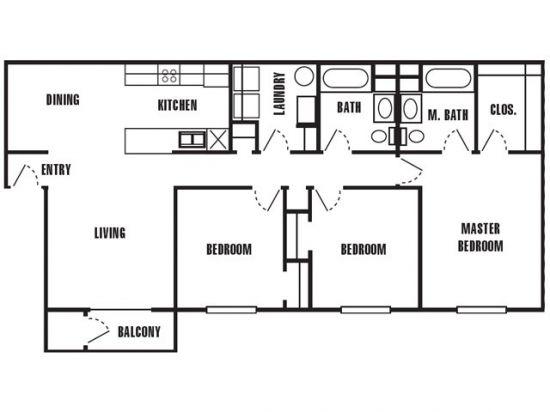 Mark Twain Apartments - Salt Lake City, Utah | The Riverboat