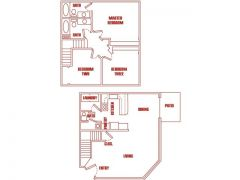 Elk Run Apartments - 3 Bedroom(s) 2 Bathroom(s)